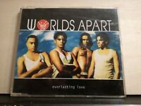 WORLDS APART - EVERLASTING LOVE 4 tracks version CD singolo slim case NUOVO