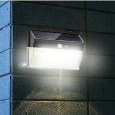 206 LED Solar Power PIR Motion Sensor Light Outdoor Garden Security Flood Lamp