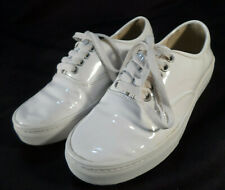 ec2937ded75f Junya Watanabe Comme des Garacons White Patent Leather Sneakers XS (6.5 )