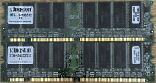 Kingston 2 x KTA-G4133/512 (1GB) PC133 168-Pin 512M RAM PowerMac G4