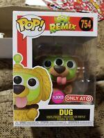 Funko Pop! Disney Alien Remix #754 DUG Flocked - Target Exclusive