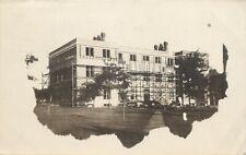 New Building, Under Construction, Des Moines College, Des Moines, IA RPPC 1909