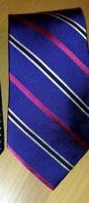 AMERICAN LIVING Men's Tiie Silk Blue Stripe NEW