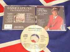 PATRICK LINDNER - ohne Zärtlichkeit geht gar nix  CD 1992