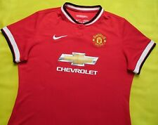 4.8/5 Manchester United 2014~2015 WOMEN Home Football Soocer Shirt Jersey NIKE