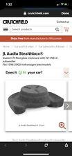 "JL W3v3 10"" Stealthbox - VW Audi"