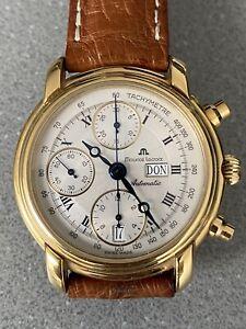 Maurice Lacroix Chronograph Automatik 18k vergoldet