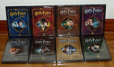 HARRY POTTER 1-8 COLLECTION COMPLETE EDITION COLLECTOR 16 DVD NEW SEALED