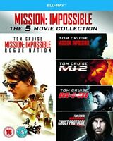 Mission Impossible 1-5 [Blu-ray] [Region Free] [DVD][Region 2]