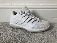 Womens Size 6 Nike Air Zoom Vapor X Tennis White Trainers Lace Up EU 40
