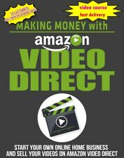 making Money with Amazon video Direct ✅video course training✅
