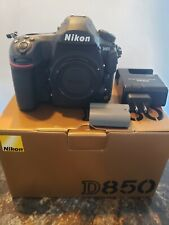 Nikon D850 45.7 MP Digital SLR Camera - Black USA Model 7725 shutter coun