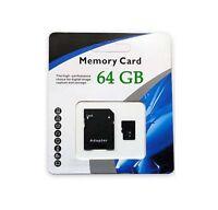 64GB Universal Micro SD SDXC SDHC TF Flash Memory Card Class 10