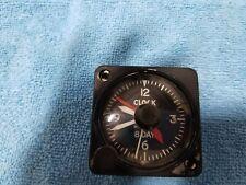 New listing Vintage Longines-Wittnauer 8 Day Clock Cockpit Clock Post Ww2