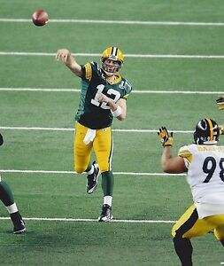 AARON RODGERS 8X10 PHOTO GREEN BAY PACKERS PICTURE PASSING NFL