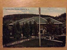 Rorick's Glen Theatre Elmira NY Vintage Postcard 1915