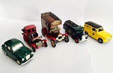 5 Vintage Die-cast Model Cars Including Packard Landaulet (Corgi & Other Makes)