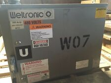 WELTRONIC, WTC MODEL 5002, 350 AMP RESISTANCE WELD CONTROLLER