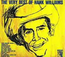 """THE VERY BEST OF HANK WILLIAMS SE-4168 12"""" LP-33 Country Album EX Stereo 1968"""