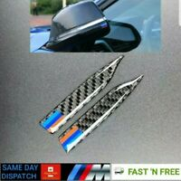 Carbon Fiber Rearview Mirror Anti-Rub Strip Frames For M Sport BMW 1 2 4 GT X1