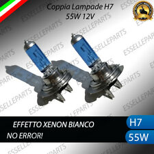 LAMPADE LAMPADINE H7 EFFETTO XENON BIANCO RENAULT CLIO IV ANABBAGLIANTE