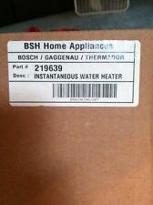 Bosch Dishwasher Instantaneous Water Heater 219639