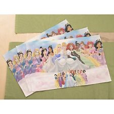 "New 2013 Disney Princess Plastic Placemat 12/"" x 17/"" Girls 3 yrs"