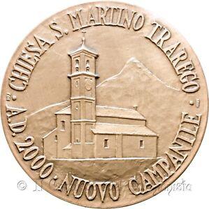 Chiesa S. Martino Trarego ViggionaNuovo campanile Madonna cintura Medaglia