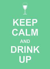 Keep Calm and Drink Up 9781849531023 (Hardback, 2010)  BRAND NEW   L7