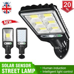 360° Solar LED Street Light Wall Lamp PIR Sensor Control Lamp Waterproof Outdoor