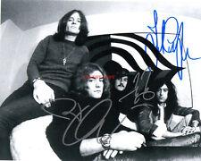 Led Zeppelin Jimmy Page Robert Plant John Paul Jones Autographed 8x10 Photo RP