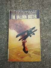 1966 The Balloon Buster (Frank Luke, Jr.) Norman S Hall Bantam Paperback WWI WW1