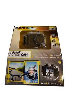 Sharper Image HD Action Cam SVC455 Full HD 1080