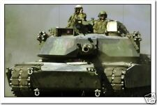 Abrams Tank - Military Army War Print NEW POSTER