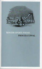 WINTER SPORT: POEMS – Priscila Uppal - Collection of Sports Poetry - SIGNED