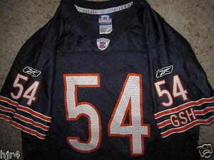 Brian Urlacher #54 Chicago Bears NFL Reebok Jersey Youth Large LG 14-16 child
