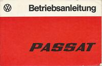 VW Passat Bedienungsanleitung 1977 8/77 Betriebsanleitung handleiding manual PKW
