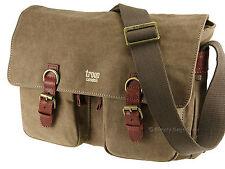 Troop London Trp0210 Classic Messenger Bag Brown
