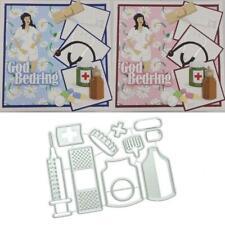 Medicals DIY Metal Cutting Dies Stencil Scrapbooking Die Cuts Paper Card Decor