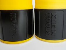 Two (2) Klein Tools Plastic Can Coozie Cooler