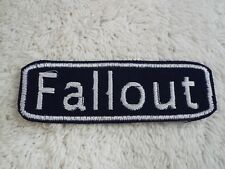 "Fallout REILLY/'S RANGERS 4/"" tall Embroidered PATCH"