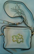 Tous White Small Pocketbook With Gold Hardware 3 bears stylish Gently used NICE