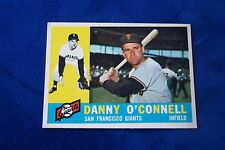 1960 TOPPS SAN FRANCISCO GIANTS DANNY O'CONNELL