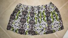 New NWT $44 Women's XL 11 Teen Princess Vera Wang Mini Short Skirt Faux Wrap