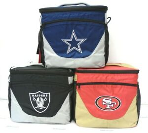 NFL 24-Can Soft Side Cooler Lunch box insulated