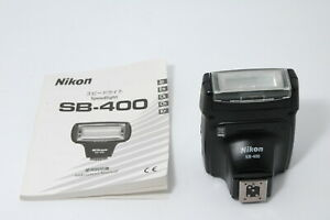 [Near MINT] Nikon SB-400 Speedlight Shoe Mount Flash from JAPAN E07