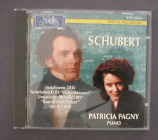 CD SCHUBERT PATRICIA PAGNY Piano Variationen D156 D57 D817 D845 Ungarische Melod