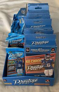 Panini Prestige 2021 Football Hanger Box (60 Cards) Lot 1