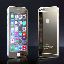 Front and Back Anti Scratch Tempered Glass Mirror Screen Protector For iPhone 6