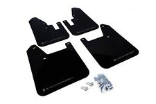Rally Armor Mud Flaps Guards for 98-02 Subaru Forester (Black w/Grey Logo)